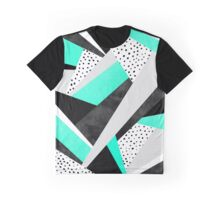 Crazy Fun Turquoise Graphic T-Shirt