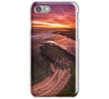 Warm Passage Sunset - Port Fairy iPhone Case/Skin