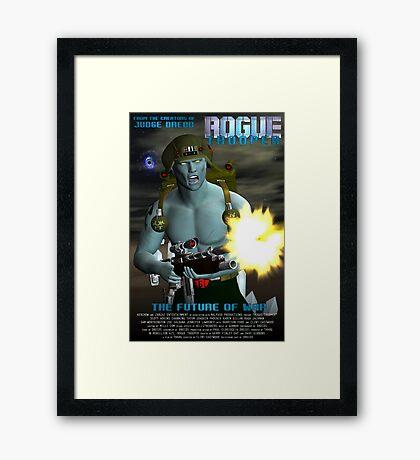 Rogue Trooper The Future of War. Framed Print