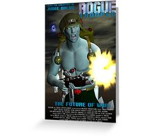 Rogue Trooper The Future of War. Greeting Card