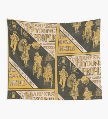 Artist Posters Harper's young people an illustrated weekly 0547 Wall Tapestry