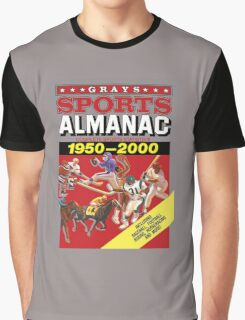 Grays Sports Almanac Complete Sports Statistics 1950-2000 Graphic T-Shirt
