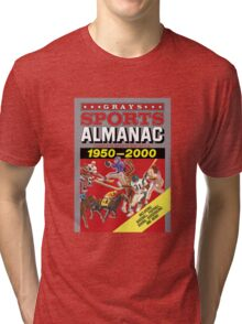 Grays Sports Almanac Complete Sports Statistics 1950-2000 Tri-blend T-Shirt