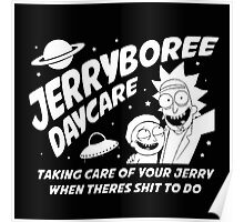 Rick and Morty Inspired Jerryboree Poster