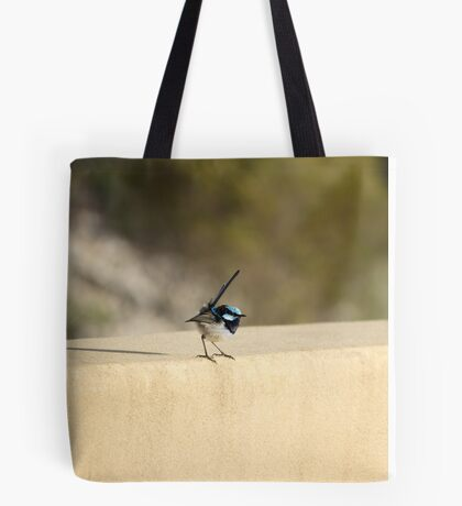 Male Superb Fairy Wren Cranbourne Tote Bag