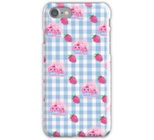 strawberries and cookies iPhone Case/Skin