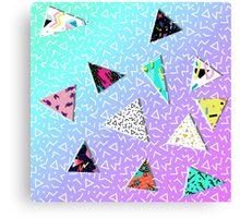 triangles 2.0 Canvas Print