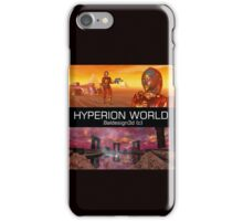 HYPERION WORLD SCIENCE FICTION Scifi iPhone Case/Skin