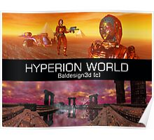 HYPERION WORLD SCIENCE FICTION Scifi Poster