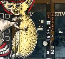 Graffiti art - Esztergom, Hungary Sticker