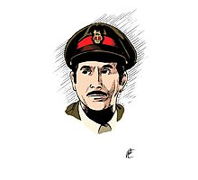 The Brigadier Photographic Print