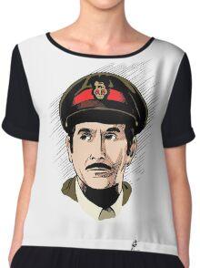 The Brigadier Chiffon Top