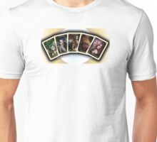 Initial 5 Oracle Cards Unisex T-Shirt