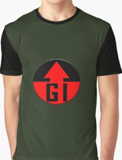 Genetic Infantry Badge Graphic T-Shirt