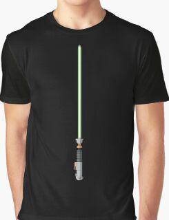 Luke Skywalker Lightsaber Graphic T-Shirt