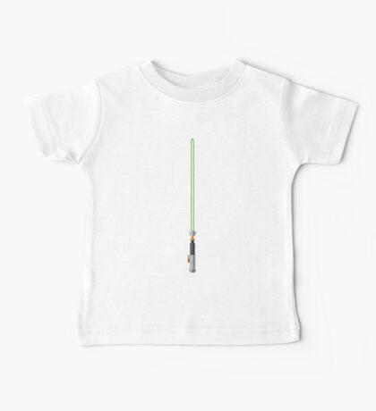 Luke Skywalker Lightsaber Baby Tee
