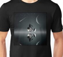 Galaxy and compass Unisex T-Shirt