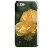 Yellow rose shower iPhone Case/Skin