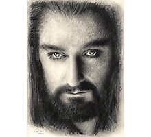 Thorin Oakenshield The Hobbit Photographic Print