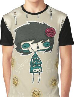 EMO- Candles and Roses Graphic T-Shirt