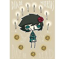 EMO- Candles and Roses Photographic Print