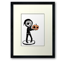 EMO- That's my pumpkin Framed Print