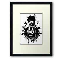 EMO- Sadness Kills me Framed Print