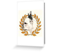 French Bulldog - @french_alice Greeting Card