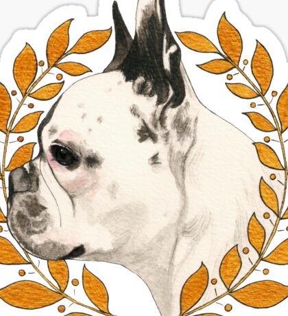 French Bulldog - @french_alice Sticker