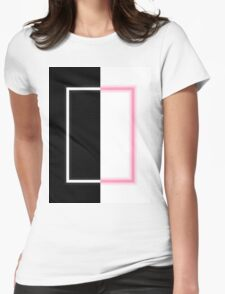 The 1975 Album Neon Artwork Pixel Art Womens Fitted T-Shirt