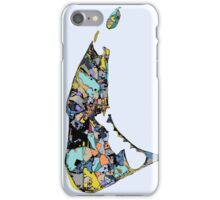 Abstract Map of Nantucket iPhone Case/Skin