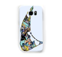 Abstract Map of Nantucket Samsung Galaxy Case/Skin