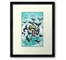 EMO- Counting Black Crows Framed Print