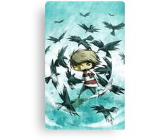 EMO- Counting Black Crows Canvas Print
