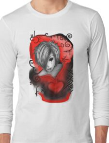 EMO- Bleeding Heart Long Sleeve T-Shirt