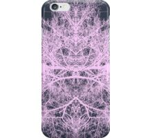 Pink psychedelic forest creature iPhone Case/Skin