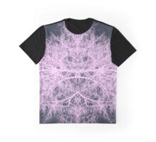 Pink psychedelic forest creature Graphic T-Shirt