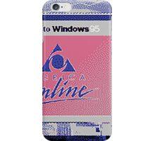 america online iPhone Case/Skin