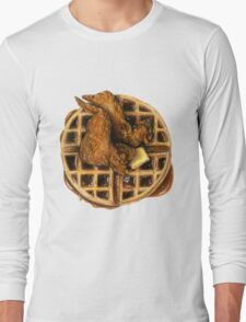 Chicken and Waffles Long Sleeve T-Shirt