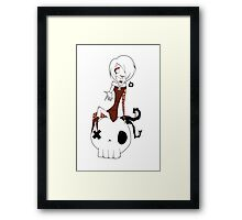 EMO- March of memphisto Framed Print