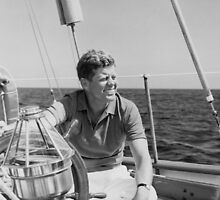 JFK Sailing On Vacation by warishellstore