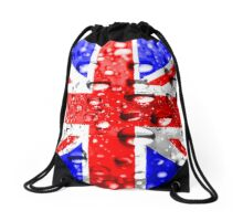 Union Jack Wet Drawstring Bag