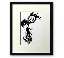 EMO- Exotic Plants Over My Feet Framed Print