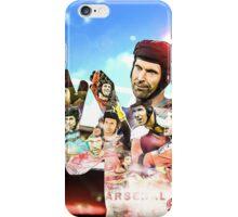 Petr Cech double exposure iPhone Case/Skin