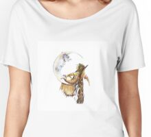 Chatting with a friend Women's Relaxed Fit T-Shirt