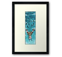 EMO- Hanging by a moment Framed Print