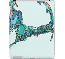 Abstract Map of Cape Cod iPad Case/Skin
