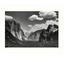 Tunnel View, Yosemite Art Print