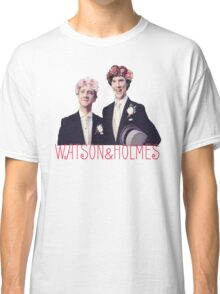 Johnlock | Flower Crowns Classic T-Shirt