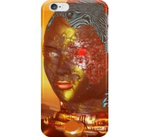 CYBORG ARES IN THE DESERT OF HYPERION Sci Fi Movie iPhone Case/Skin